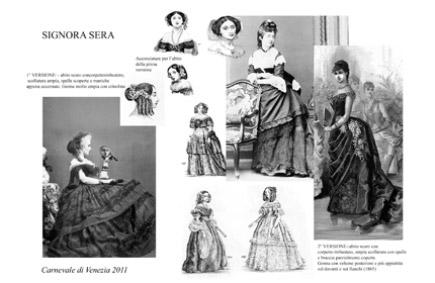 18-19. századi öltözetek hölgyeknek és uraknak 8