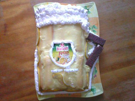 sörös korsó torta