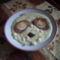 Tejfölös krumpli főzelék fasírozottal