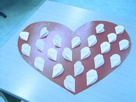 Valentin napi ajándék az osztályomnak :-)
