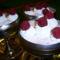 Joghurtos málnakrém