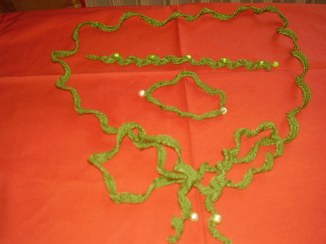 zöld szett