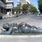 Plaza de Colón- Fernando Botero szobra - Mujer con Espejo