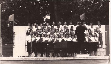 1960. Énekkar Csorna