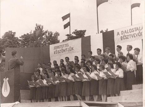 1961. Énekkar Mosonmagyaróvár