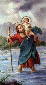 szent       kristof az utsok és utazók védőszentje