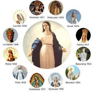 Mária Jelenései