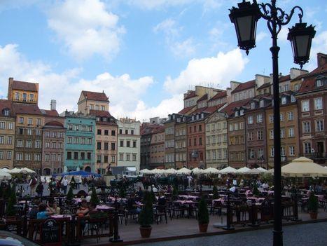 varsó - az óvárosi piactér