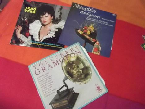 archív gramofon lemezeim.
