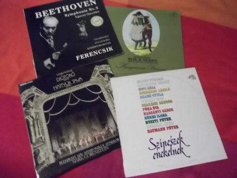 archív gramofon lemezeimből  ismertető fotók
