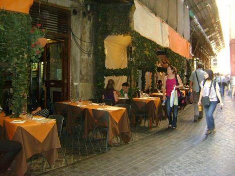utcai vendéglő