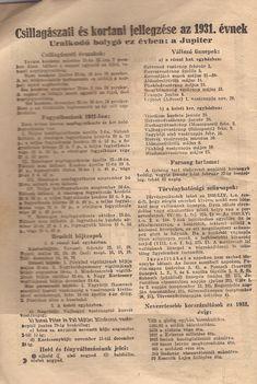 1931. naptár