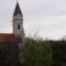 Sopronbánfalva -templom hívogató tornya