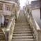 Sopronbánfalva-feljárat a templomhoz,kolostorhoz