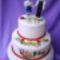 50. házassági évfordulóra fóti népviseletben