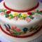 Kalocsai himzéses torta