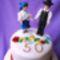 kalocsai himzéses torta fóti népviseletben