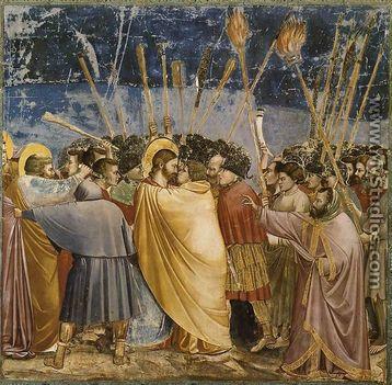 Giotto Di Bondone - Júdás csókja