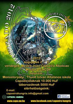 Capoeira Hungria Batizado 2012