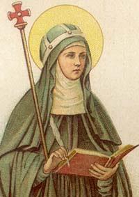 Július 23: Szent Brigitta szerzetesnő