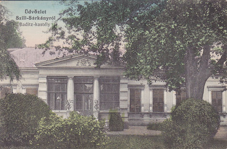 A Badicz kastély 1915-ben