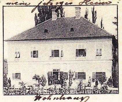 A Saághy kastély az előző századfordulón.