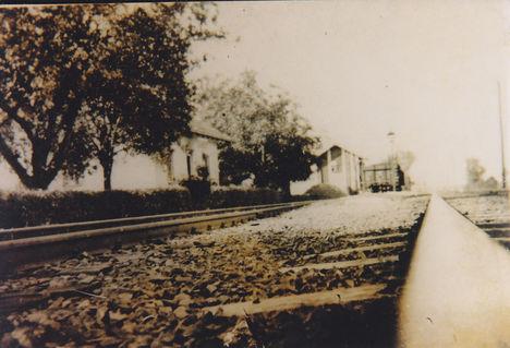 A szilsárkányi vasútállomás volt.