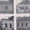 Evangélikus iskola és tanítói lak, a községháza és jegyzőlak 1931-ben