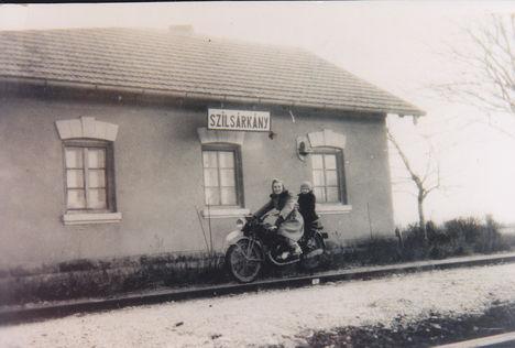 Ez volt a vasútállomásunk.