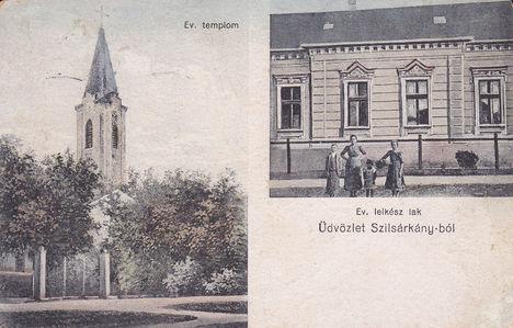 Képeslap Szilsárkányból 1922.-ből