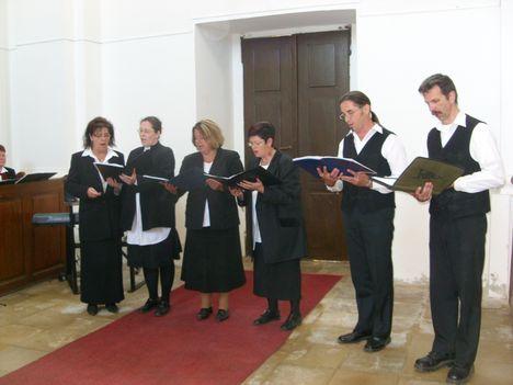 Kis kórusunk is szolgált a Somogyi Ref. Egyházmegye fennállásának 400. évfordulóján.