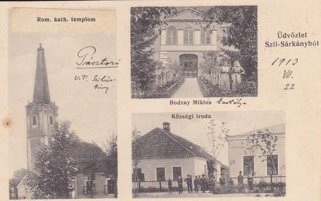 Üdvözlőlap 1913-ból