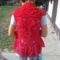 ananászos körmellény háta