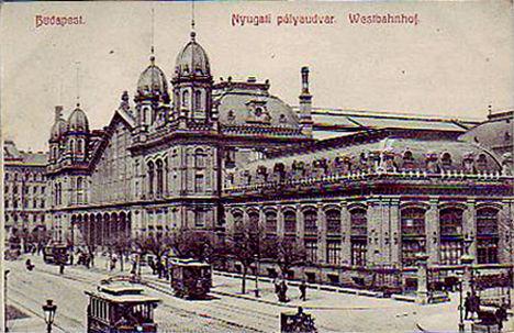 Budapest 1907 Nyugati Pu
