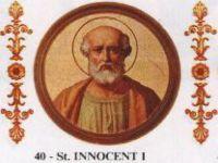 Szent I.Ince pápa Július 28