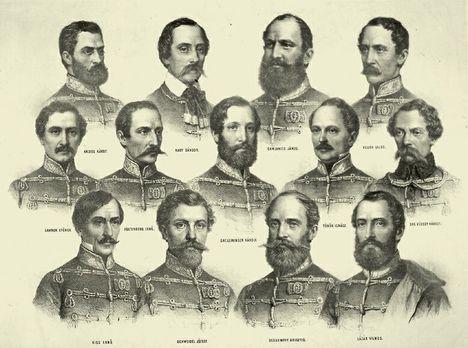 arad, aradi vértanúk, szabadságharc, 1848 15 Aradi vértanúk