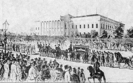 arad, aradi vértanúk, szabadságharc, 1848 18 Aradi vértanúk temetése