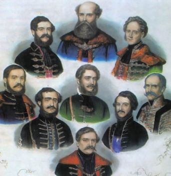 Batthyány-kormány tagjai
