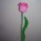 Horgolt tulipán