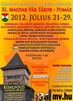 Júli 21-én indul a Magyar Vár Tábor
