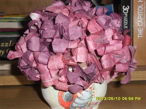 origami virág