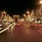 A Diadalívhez vezető út karácsonyi fényei