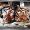 Alvó tigrisek