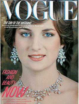 Diana a Vouge címlapján