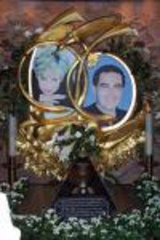 Diana és Dodi emlék Londonban