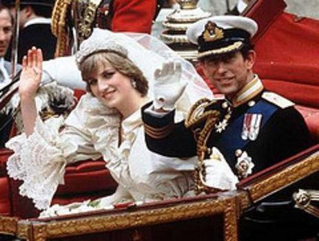 Károly és Diana esküvője