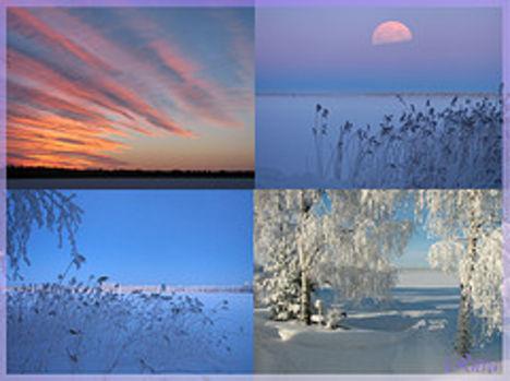 kék tél