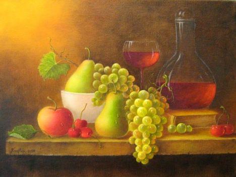Kraft Ilona, Bor és gyümölcs