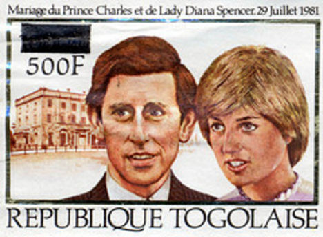 Lady Diana és Prince Charles esküvőjének emlékére