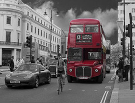 londoni busz